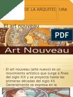 Historia de La Arquitectura Art Nouveau