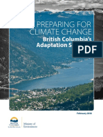 Adaptation Strategy British Columbia