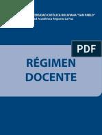 01 Regimen Docente (2013)