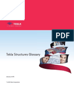 Tekla Structures Glossary