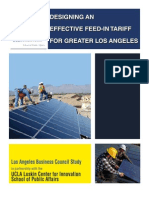 Designing an Effective Feed in Tariff for Greater Los Angeles 040110