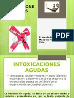 15.- INTOXICACIONES AGUDAS