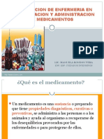 16.- Administracion de Medicamentos