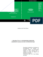 A Tradução Na Contemporaneidade a Retextualização Em Contextos Ead - Andressa Da Costa Farias