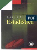 Aprendiendo Estadistica Volumen 1