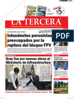 Diario La Tercera 05.02.2016