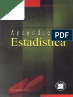 Aprendiendo Estadistica Volumen 2