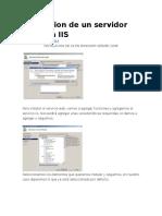instalacion de un servidor web IIS.docx