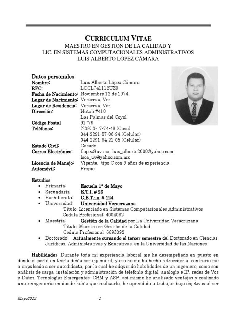 Magnífico Universidad Dj Curriculum Vitae Imagen - Colección De ...