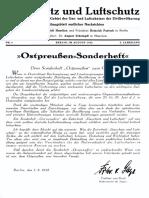 Gasschutz Und Luftschutz 1932 Nr.8 August 1932