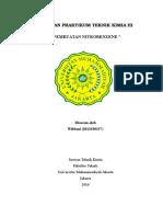 laporan Nitrobenzen