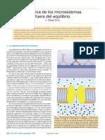 Fisica de Los Microsistemas de No Equilibrio