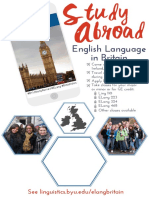 2016; ELang Study Abroad; 11 by 17 In