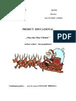 Proiect Educational Serbare Craciun