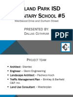 Masterplan's Fifth Elementary School Presentation