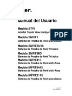 User Manual STVI_SMRT PN 83796 Spanish Rev 2