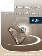 SBC 303-2007 - Saudi Building Code - Structural - Soil and Foundations