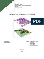 Proiect Modelarea Digitala a Terenului