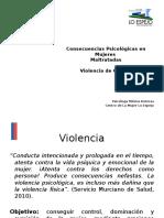 Consecuencias Psicológicas de La VIF UNAB