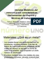 Metales en Automocion