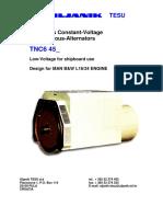 Uljanik TESU - TNC6 Generators