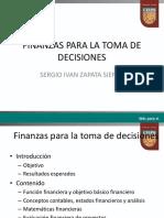 finanzas para la toma de decisiones