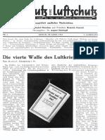 Gasschutz Und Luftschutz 1933 Nr.4 April