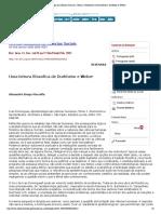 """Preview of """"Epistemologia das ciências humanas- (To...ismo e hermenêutica- Durkheim e Weber)"""""""