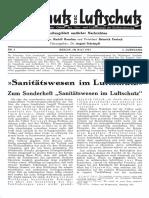 Gasschutz Und Luftschutz 1933 Nr.5 Mai