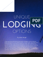 Lodging Options; Spring 2015