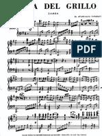 Atahualpa Yupanqui - Zamba Del Grillo (Piano)