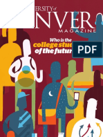 University of Denver Magazine Winter 2016