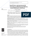 Small Firm Entrepreneurial Outsourcing Traditional Problems, Patrick J Murphy