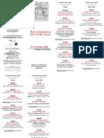 Programme Iles 2016