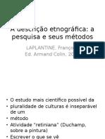 A Descrição Etnográfica-Laplantine (1)