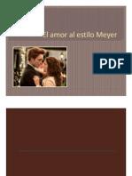 El amor a lo Meyer