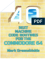 40 Best Machine Code Routines for C64