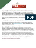 Selpa - Cde Special Ed Website Posting Mandate