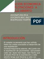 OPTIMIZACIÓN ECONOMICA DE EXPLOTACIONES  A CIELO ABIERTO - copia.pptx