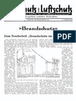 Gasschutz Und Luftschutz 1933 Nr.11 November