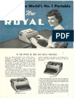 Typewriter Manual