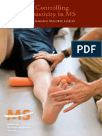 Controlling Spasticity in Ms