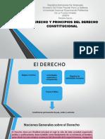 EL DERECHO Y PRINCIPIOS DEL DERECHO CONSTITUCIONAL