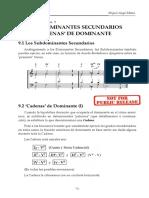 9 Subdominantes.secundarios ARMONIA.pracTICA.vol.2 Demo