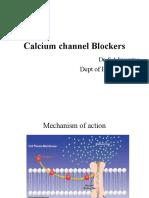 CA Channel Blockers