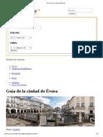 Guía de La Ciudad de Évora