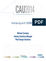 Interfacing With Cadworx