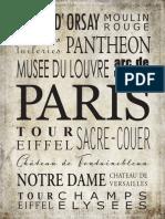 Paris 8x10