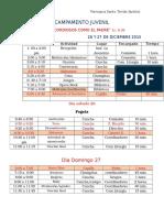 Agenda Campa 2015