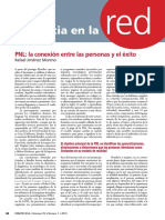 PNL. La Conexión Entre Las Personas y El Éxito